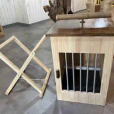 木製バードケージ(猛禽類用)